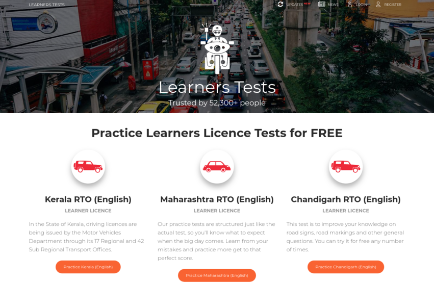 Learners Tests