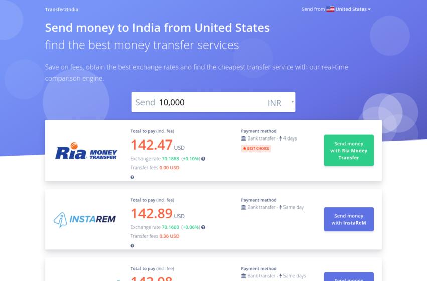 Transfer2India